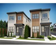 Best Contemporary house plans for narrow lots