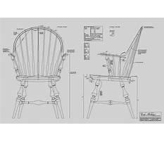 Best Continuous arm windsor chair plans