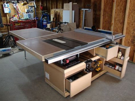 Contractor Table Saw Cabinet Build