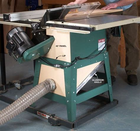 Contractor Table Saw Dust Collector Plans