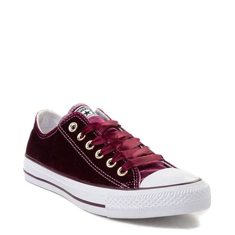 Converse All Star Lo Velvet Sneaker Purple