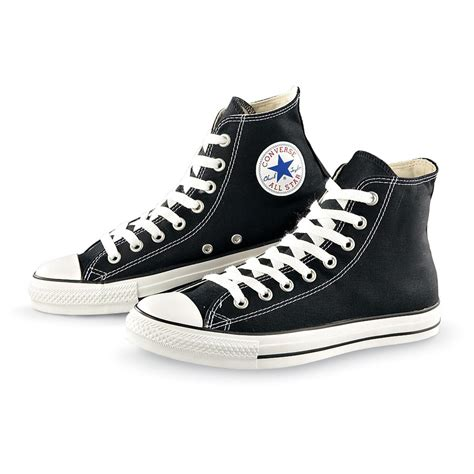 Converse All Star Sneakers For Unisex Black