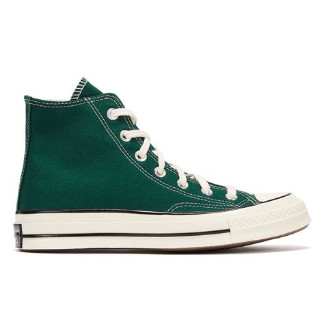 Converse Black And Green Sneakers