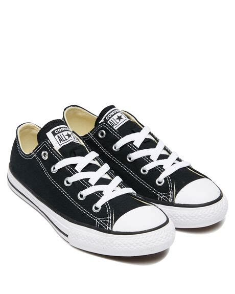 Converse Black Sneakers Image Large Scale