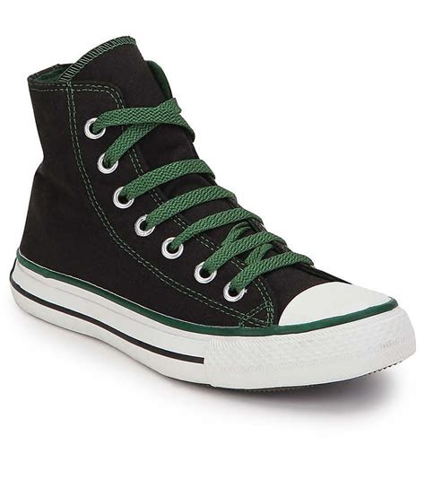 Converse Black Sneakers Online India