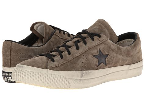 Converse By John Varvatos One Star Brushed Suede Sneakers
