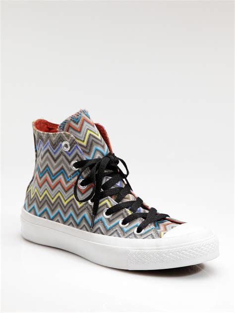 Converse By Missoni High Top Sneakers