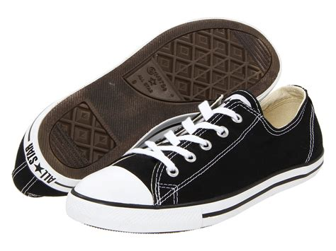 Converse Chuck Taylor All Star Dainty Sneakers In Black