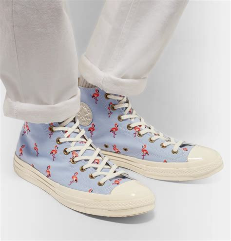 Converse Chuck Taylor All Star Embroidered High Top Sneaker Mens