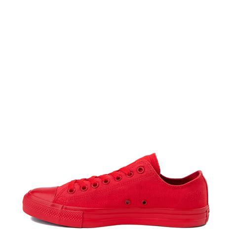 Converse Chuck Taylor All Star Lo Mono Sneaker Red