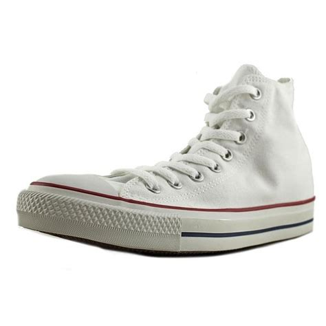 Converse Chuck Taylor Hi Women Round Toe Canvas White Sneakers