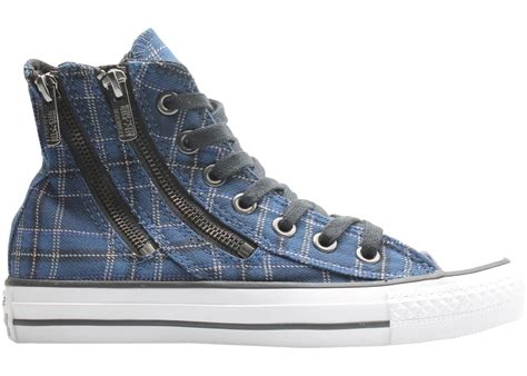Converse Ct All Star Dual Zip Plaid Sneaker