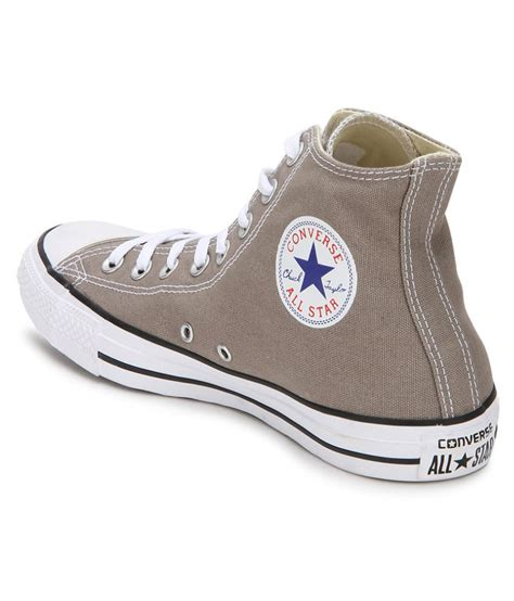 Converse Grey Sneakers India