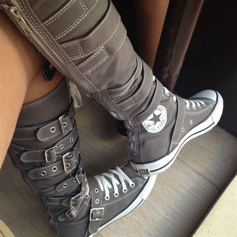 Converse High Knee Sneakers