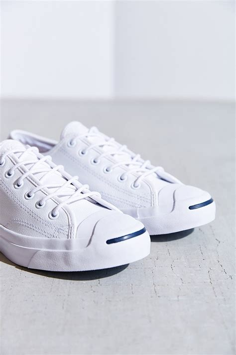Converse Jack Purcell Tumbled Leather Low Top Sneaker