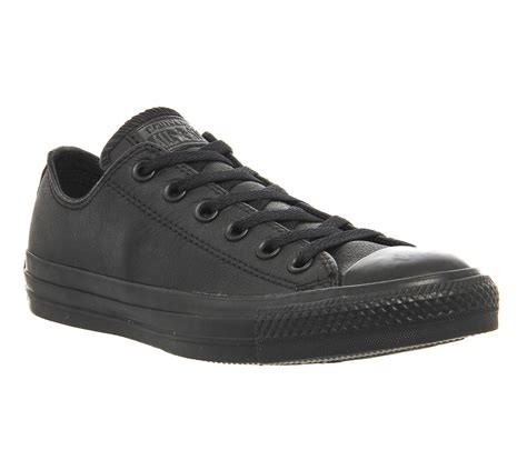 Converse Leather Low Sneakers Black