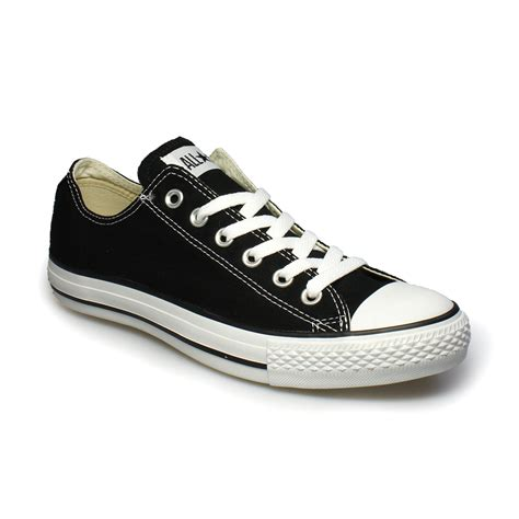 Converse Men's Black Canvas Sneakers