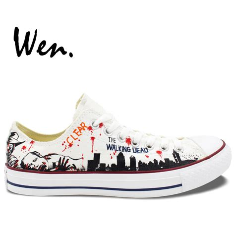 Converse Men's White Canvas Casual Sneakers Second Hand