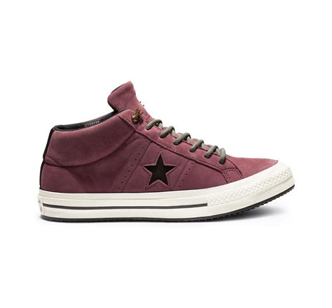 Converse One Star Mid Sneaker Red