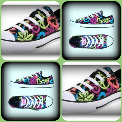 Converse Peace Sign Sneakers