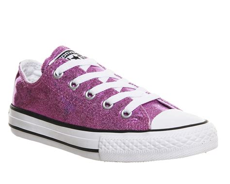 Converse Pink Sparkle Sneakers
