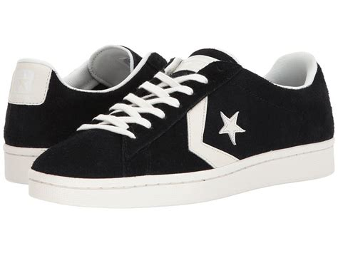 Converse Pro Leather 76 Ox Sneakers In Black Zappos