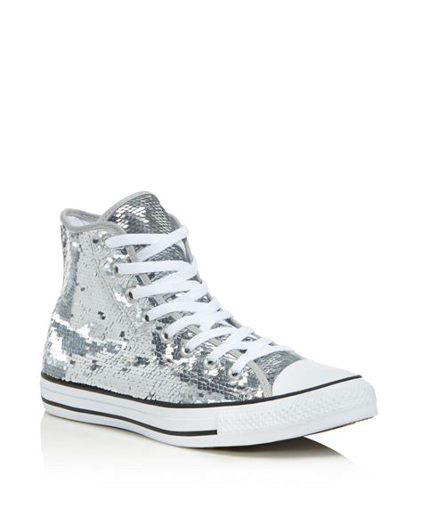 Converse Sequin High Top Sneakers