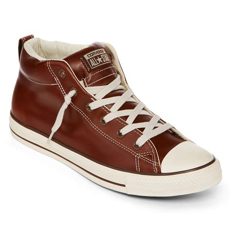 Converse Shoes Leather Oxford Sneakers