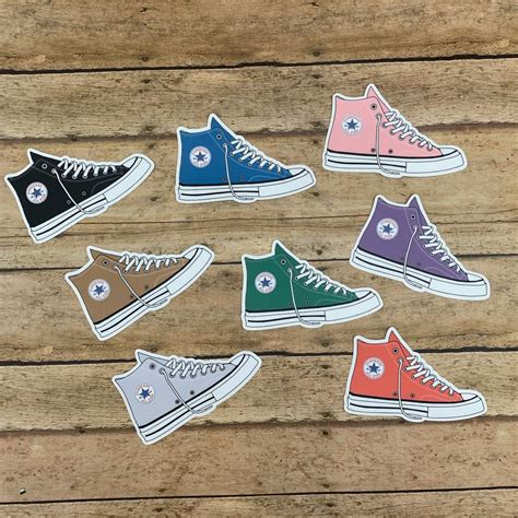Converse Sneaker Stickers