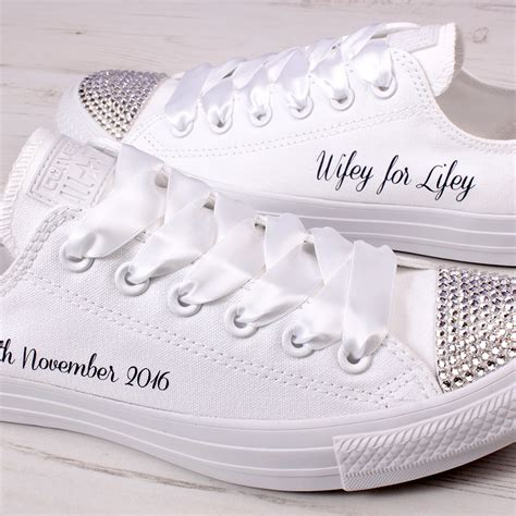 Converse Sneaker Wedding Pi Tured