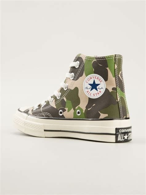 Converse Sneakers Camouflage