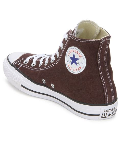 Converse Sneakers In Green And Brown
