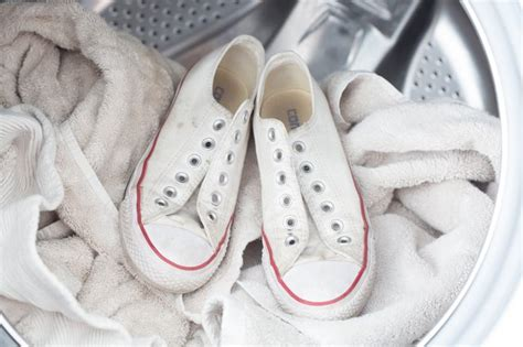 Converse Sneakers In Washing Machine