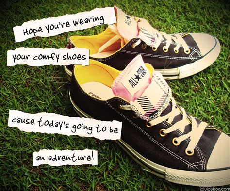 Converse Sneakers Quotes