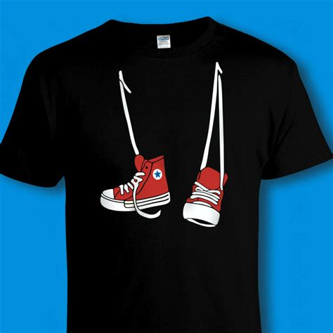 Converse Sneakers T Shirt Step Brothers