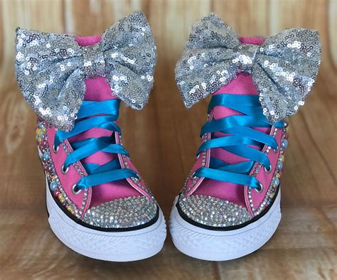 Converse Sneakers With Bows