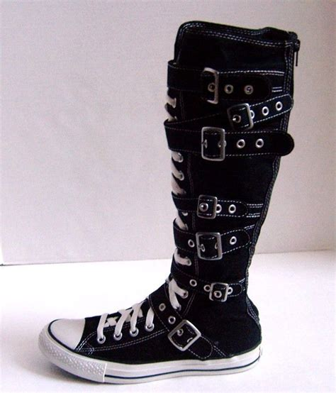 Converse Sneakers With Buckles