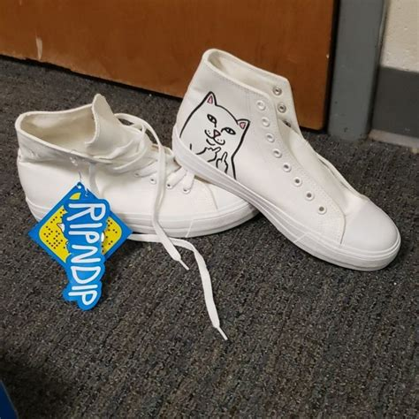 Converse Sneakers With Cats