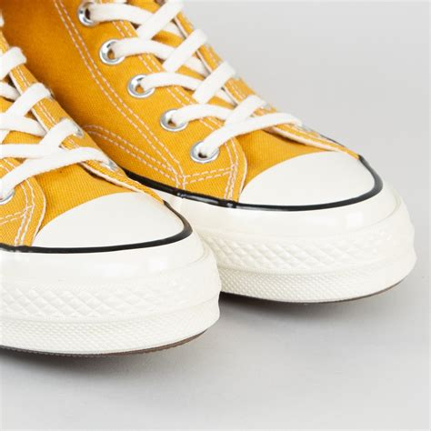 Converse Sneakers With Sunflower
