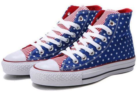Converse Stars And Stripes Sneakers