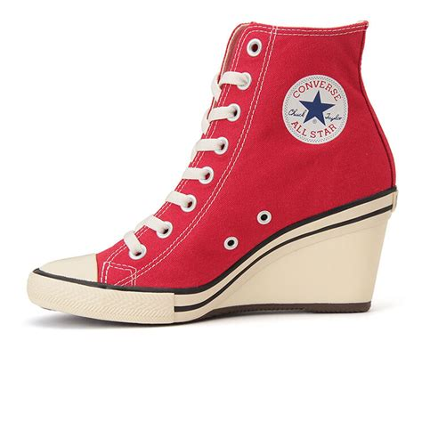 Converse Wedge High Heel Sneakers