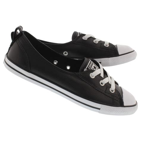 Converse Women's Chuck Taylor All Star Ballet Leather Lace Sneaker