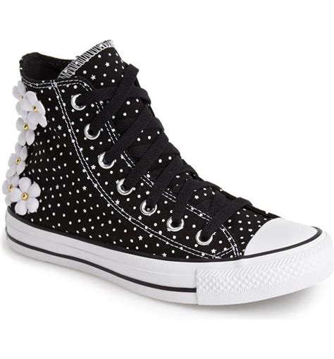 Converse Women's Chuck Taylor All Star Floral Polka Dot Sneaker