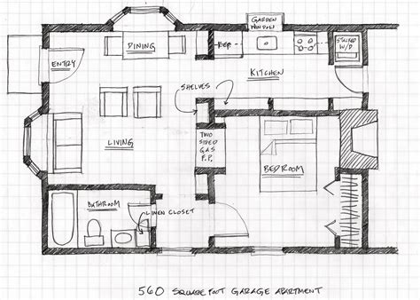 Convert Garage To Apartment Plans