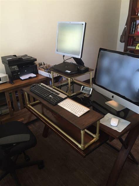 Convert-To-Standing-Desk-Diy