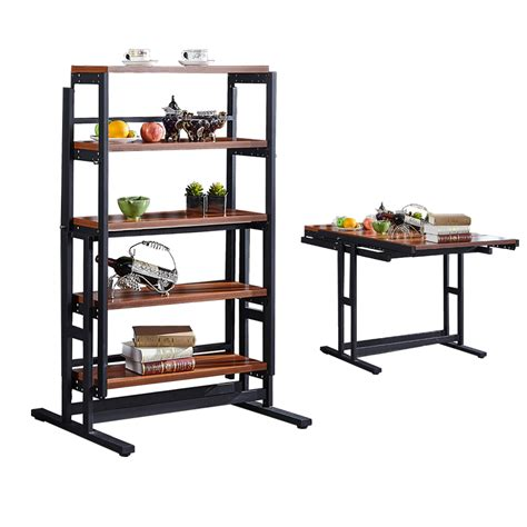 Convertible Shelf Dining Table Diy Wood