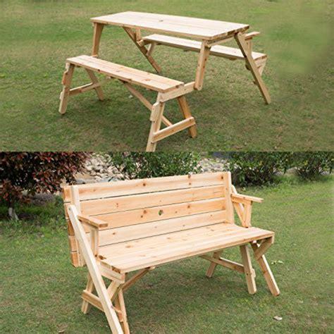 Convertible-Garden-Bench-To-Picnic-Table-Plans