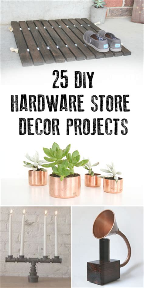 Cool DIY Projects From Hardware Store
