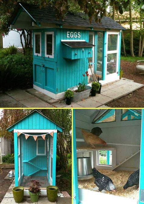 Cool Diy Chicken House