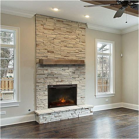 Cool Diy Wood Plank Art Above Fireplace